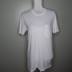 everlane women white T-Shirt cotton SZ XS